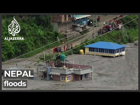 Download Nepal struggles to rescue those stranded in floods in Himalayan foothills