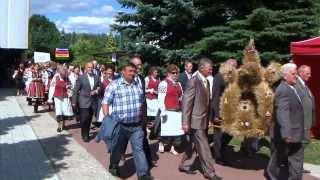 Miętne 2013  Dożynki Wojewódzkie cz. 1 korowód