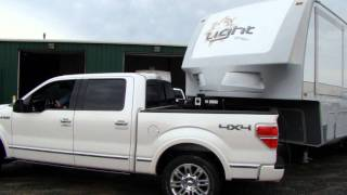 Check out the Open Range Light fifth wheel turning radius@Lerch RV, Milroy PA