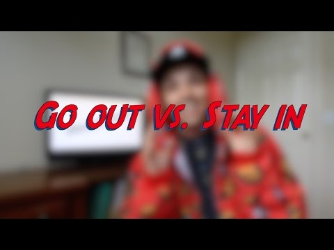 Go out vs. Stay in - W1D1 -  Daily Phrasal Verbs - Learn English online free video lessons
