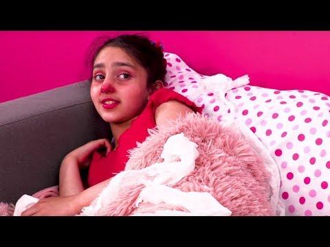 Isabella Gets Sick 🤕 Princesses In Real Life | Kiddyzuzaa