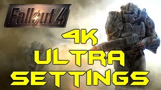 FALLOUT 4 PC 4K ULTRA GRAPHICS Titan X Max Settings Gameplay