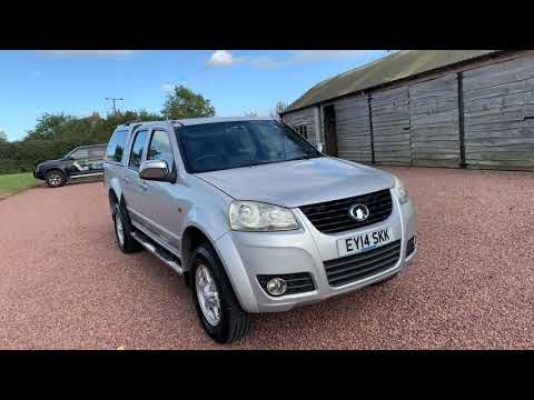 For Sale Great Wall Steed 2.0 TD SE Pickup 4x4 4dr
