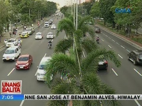 UB: Traffic update as of 7:05 a.m. (January 11, 2019)