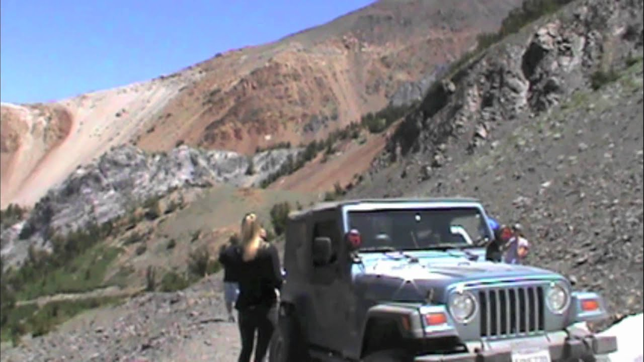 Mammoth 2011 - Jeep ride up Laurel Lake - YouTube