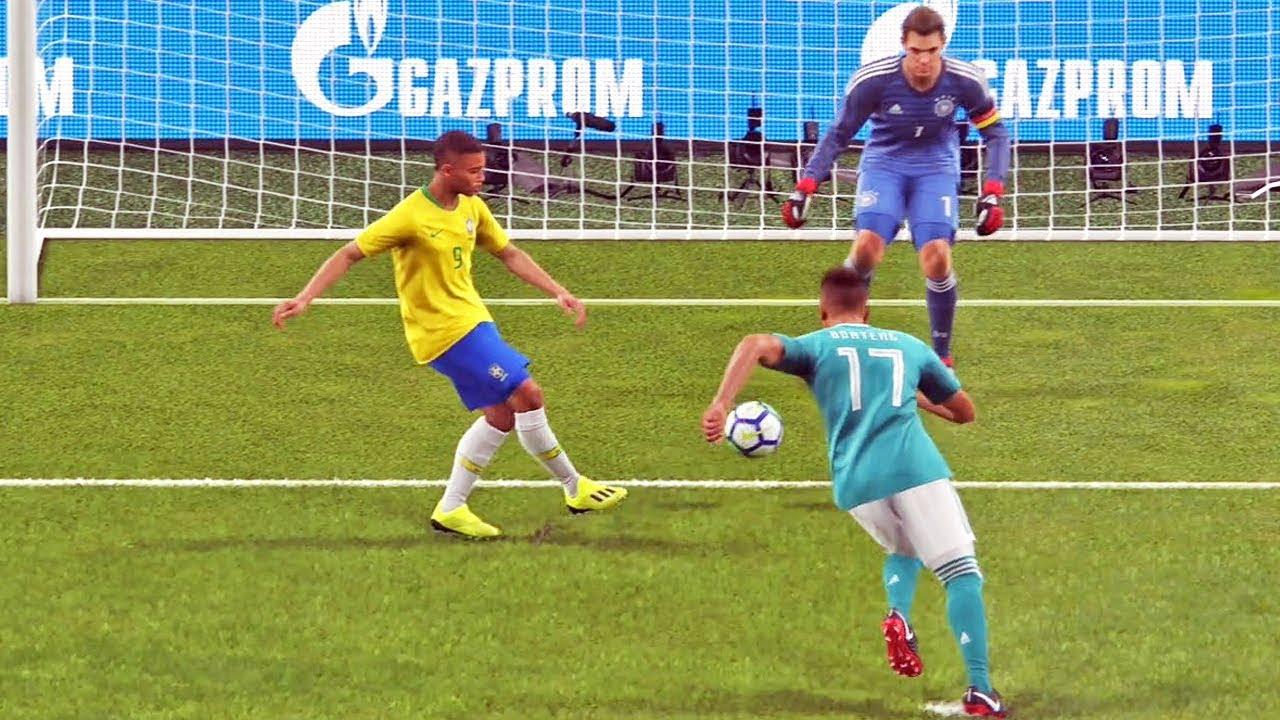 Revanche: Brasil Vs Alemanha - Pro Evolution Soccer 2019 - PES 2019 (PS4)