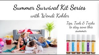 Summer Survival Series ~ Need a little focus?  Try Thinker for your child (or you)