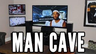 Man Cave Tour - Three Tv's [2015]