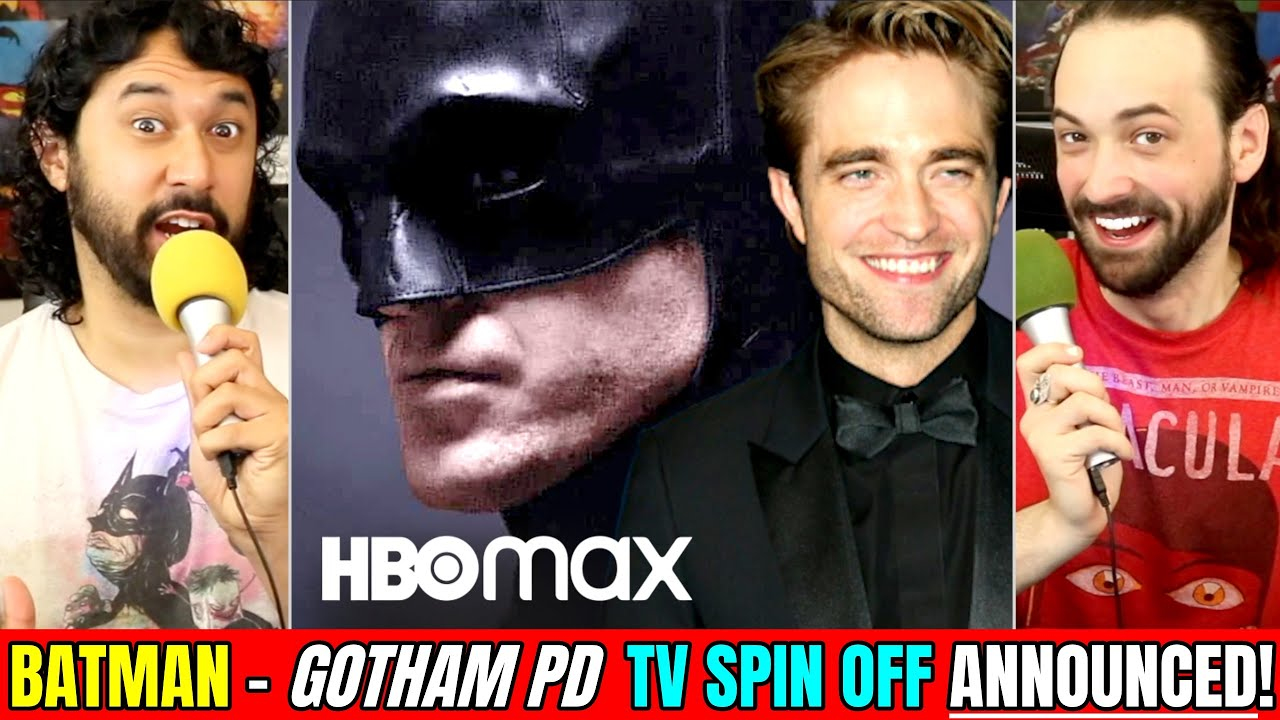 THE BATMAN (2021) HBO MAX TV SHOW Spin-Off CONFIRMED! (Gotham | Matt Reeves)