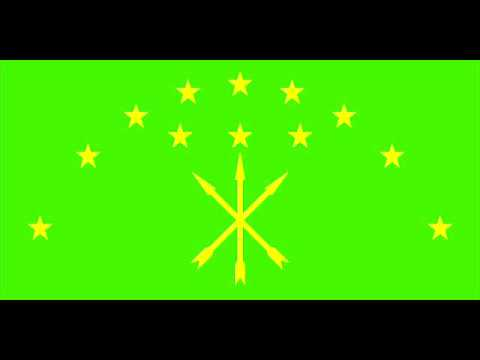 Anthem of the Republic of Adygea vocal in Russian