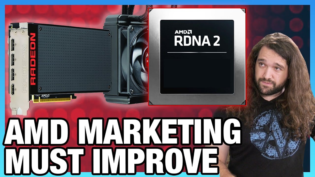 Get Good Amd Radeon Marketing Friendly Fire Rdna2 Competing Vs Rtx 3000 Youtube