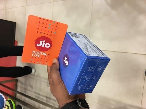 Jio digital life free Internet & HD video calls