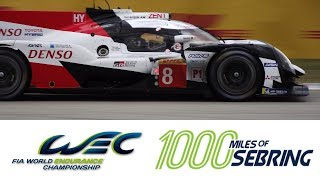 2019 WEC 1000 Miles of Sebring thumbnail