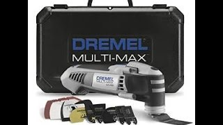 This is a product review of the Dremel MM40-05 Multi-Max. The produ...