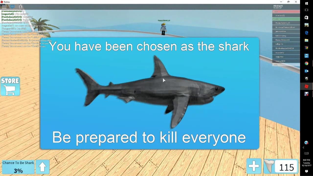 roblox shark bait