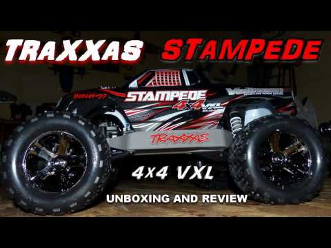 TRAXXAS STAMPEDE 4x4 VXL - Unboxing & Review