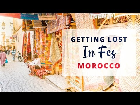 FLYING CARPETS - Fes - Morocco Travel vlog