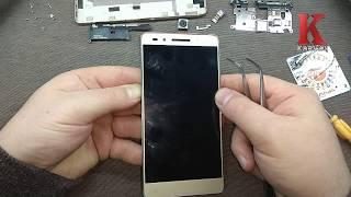 Как разобрать Huawei Honor 7  ремонт, замена дисплейного модуля Honor 7 LCD repair