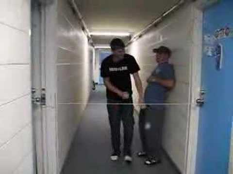 college prank door joke & college prank door joke - YouTube