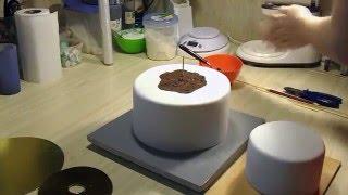 Как собрать двухъярусный торт из мастики.[8] Я - ТОРТодел!