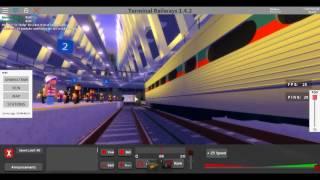 Roblox Septa train crash in terminal railways