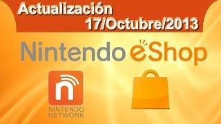 Actualización semanal de la Nintendo eShop - 17/Octubre/2013