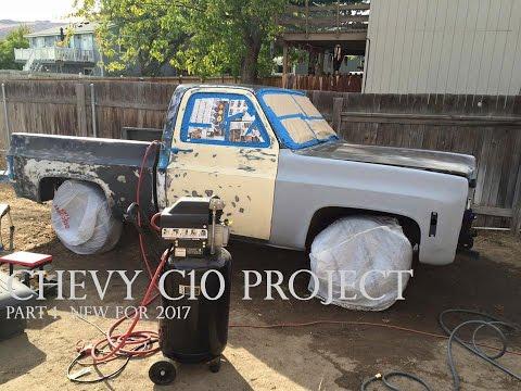 Chevy c10 restomod project Part 1