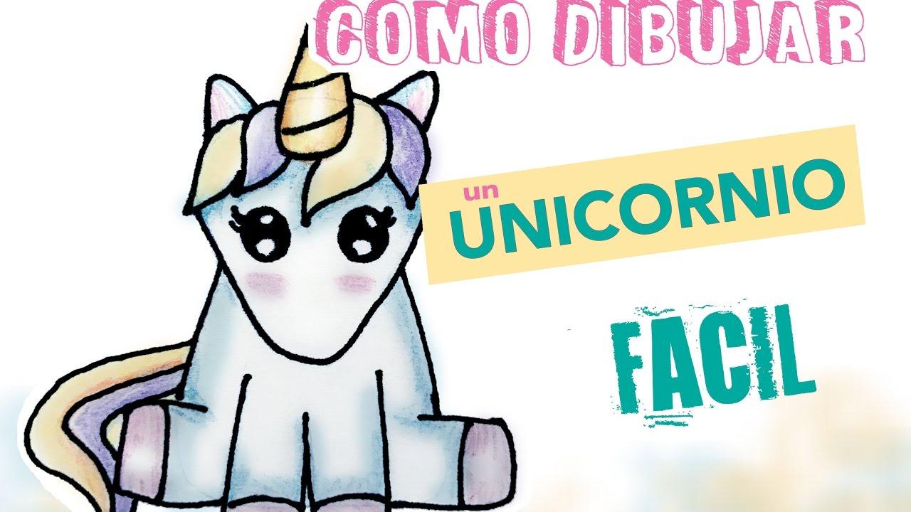 Dibujo Para Niños Fácil 1/Como Dibujar Un Unicornio