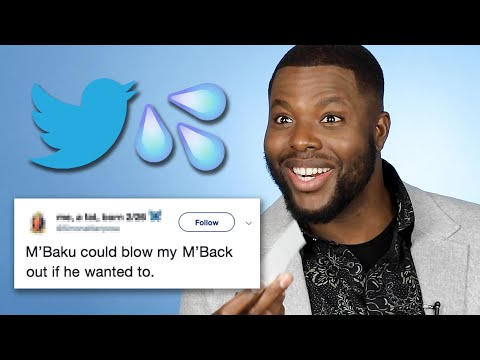 Winston Duke Reads Thirst Tweets