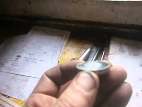 Износ регулировочной шайбы клапанов 2108.