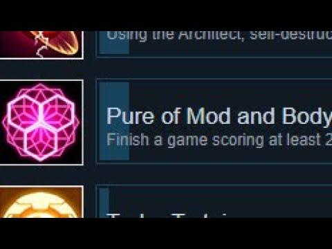 "Nova Drift How to Unlock ""Pure of Mod and Body"" Achievement OUROBOROS update |"