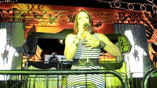 Debby Holiday Joyful sound Live @ Zoo Party 2013 Bill Hardt Presents