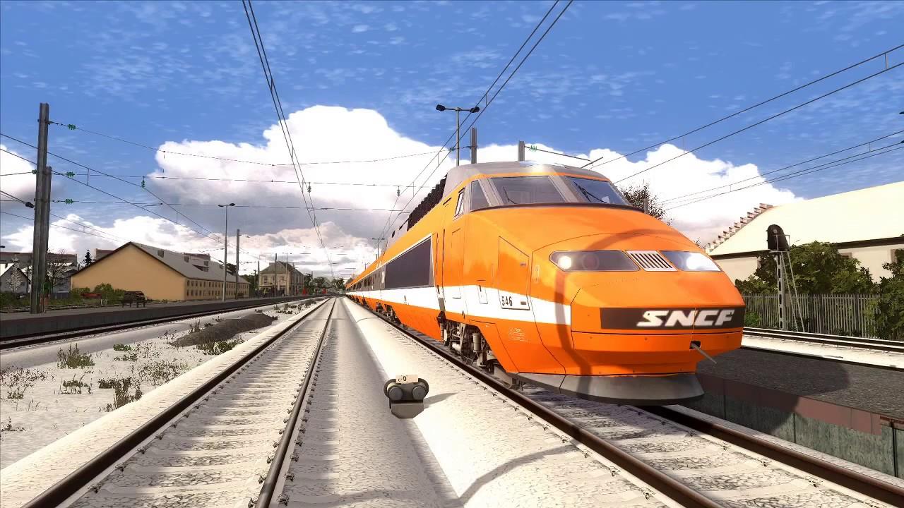 [LIVE] Train Simulator 2020 - De Dole à Vallorbe en TGV PSE