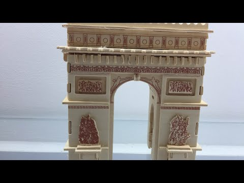 How to make a wooden TRIUMPHAL ARCH ?
