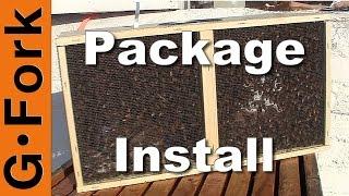Bee Package Installation - Beekeeping 101 - GardenFork.TV
