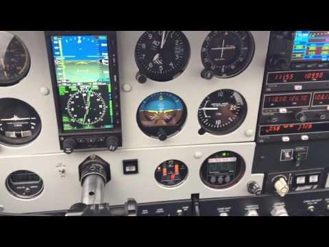 N370S Cessna Cardinal 177 IFR between layers