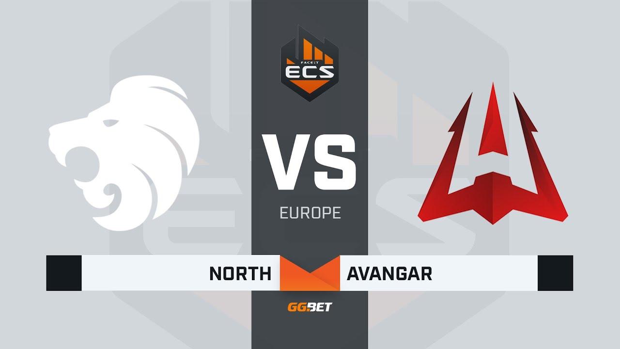 North vs AVANGAR, map 1 overpass, ECS Season 7 Europe