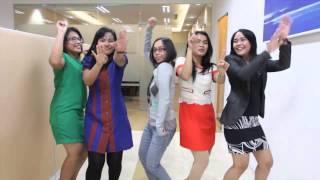 #HappyQerja - Pharrell Williams Happy by Linc Logistics Indonesia
