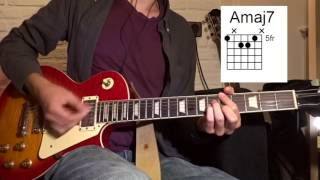King Krule - Rock Bottom Guitar Lesson