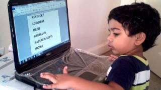 Gambar cover Akash: U.S States Spellings - part 2