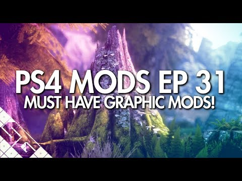 Best Skyrim Graphics Mods For PS4! ULTRA GRAPHICS! - YouTube