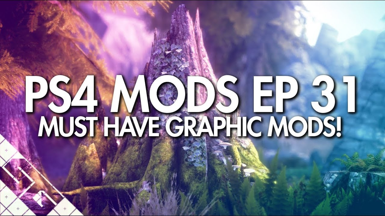 Best Skyrim Mods 2020 Best Skyrim Graphics Mods For PS4! ULTRA GRAPHICS!   YouTube