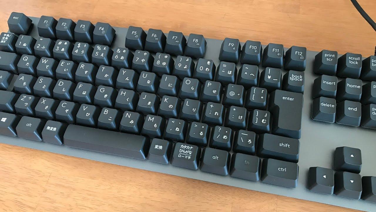 【キーボード】ロジクール Kか840 MECHANICALキーボードを買い替えてみました【4K】 - YouTube