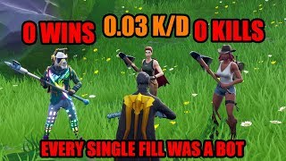 I EXPOSE The Stats Of Every Squad Fill I Get (I Didn't Expect THIS) - Fortnite