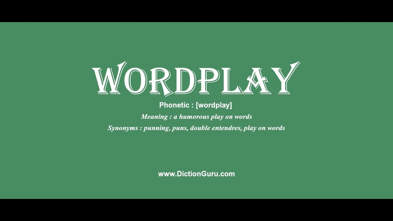 Wordplay How To Pronounce Wordplay With Phonetic And Examples Youtube