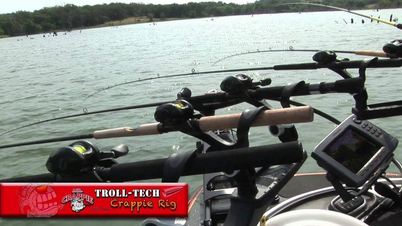 Mr Crappie Troll Tech by Bullet Weights
