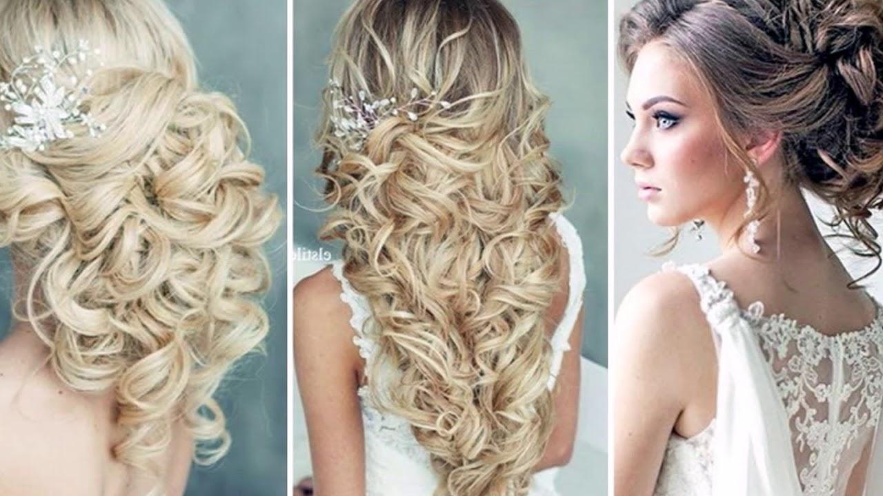 Modne Fryzury ślubne 100 Inspiracji Wedding Hairstyles 2018