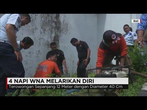 4 Napi WNA Kabur dari LP Kerobokan Bali via Terowongan Buatan