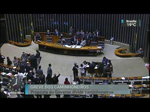 Ministro da Casa Civil se reúne com lideranças dos caminhoneiros | SBT Brasil (24/05/18)