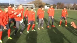 Serbia U20 - FIFA World Cup 2015, New Zealand - Haka Dance with Papakura High School (Auckland)
